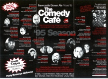 the comedy cafe - newcastle upon tyne.
