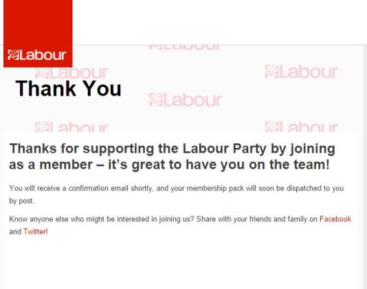 labour party membership thank you grab