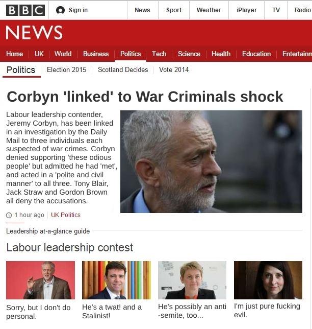 CorbynWarCriminalsShock